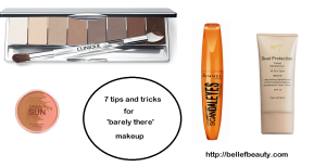 tips n tricks for barely there makeup