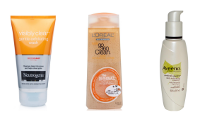 TOP EXFOLIATING CLEANSERS