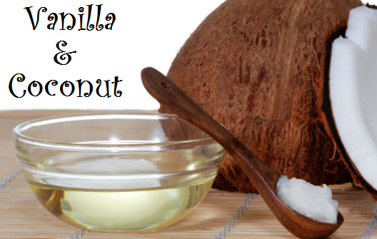 vanilla and coconut body scrub