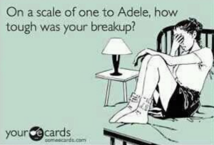 one to adele