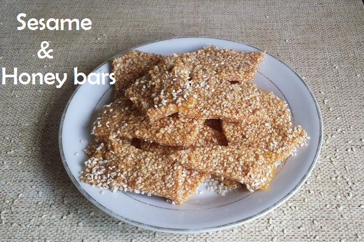 sesame and honey bars cover2