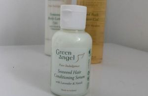 green angel hair serum