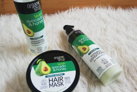 3 simple steps to soften coarse hair using Organic Shop products